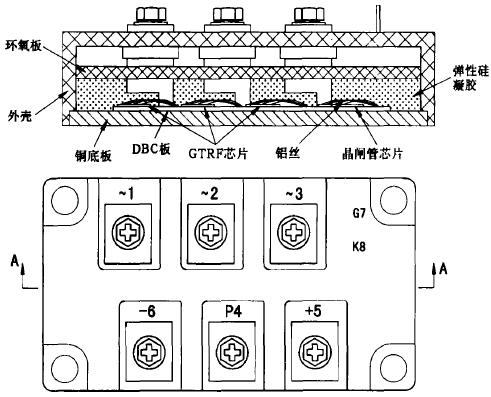 图2 模块外形结构示意图